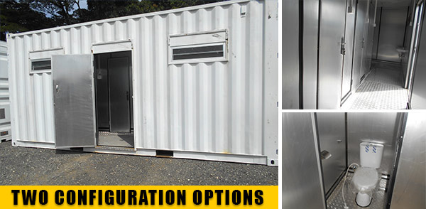 Ablution Block Containers