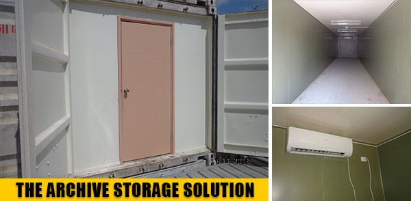 Archive Storage Container